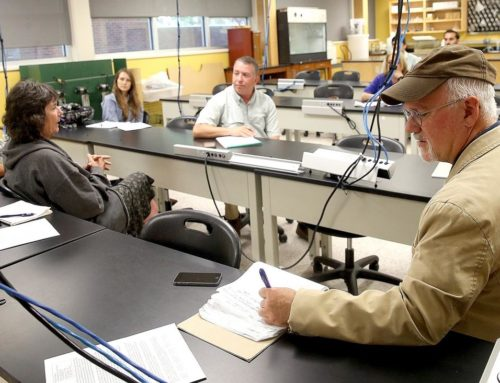 Group studying low-oxygen levels in bodies of water meets at Nicholls