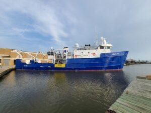 Pelican at Dock Pre-Cruise