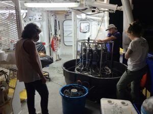 Prepping CTD & EXO for calibration